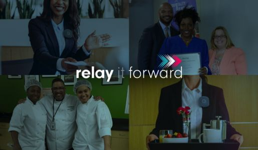 Relay and the American Hotel & Lodging Foundation Launch Relay It Forward Giveback Program