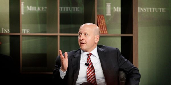 Goldman Sachs is making renewable energy a big priority based on its hiring strategy. It's a sign that its idea incubator is working