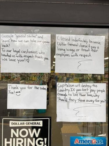 Dollar General at center of labor unrest controversy after frustrated workers walk off job in Maine citing low wages and understaffed stores