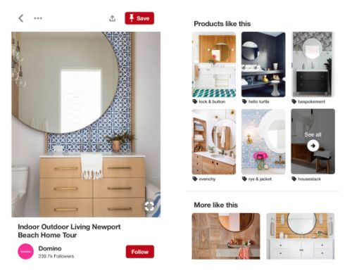 Pinterest adds dynamic pricing, product recommendations for style and home decor