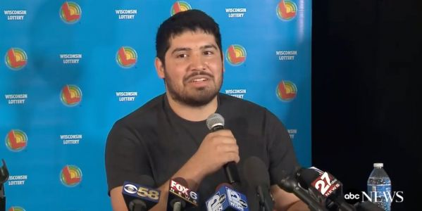 A 24-year-old from Wisconsin is the sole winner of a $768 Powerball jackpot prize