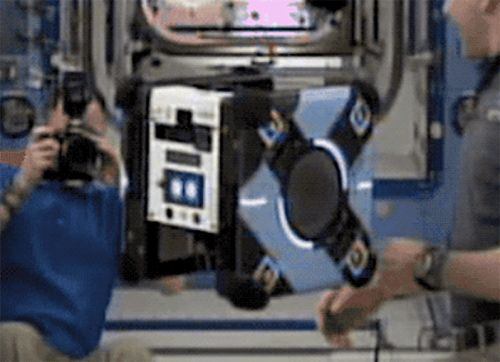 Bosch's new 'ear' for the Space Station's Astrobee robot will let it 'hear' potential mechanical issues