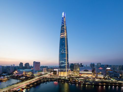 The most impressive skyscraper of 2018 has the fastest elevator in the world. Take a look