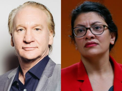 Bill Maher called the anti-Israel boycott movement 'A bulls-- purity test' after Israel barred supporters Reps. Ilhan Omar and Rashida Tlaib from visiting