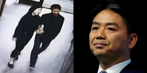 Lawyer for JD.com billionaire accused of rape argues that leaked footage undermines his accuser because it shows she wasn't that drunk