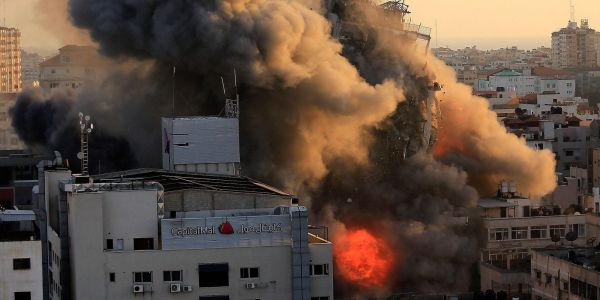 Israel's bombing of Gaza apartment buildings could be a war crime, human rights groups warn