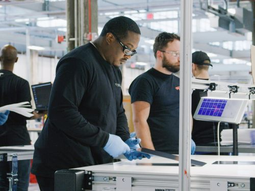 Employees at Tesla's solar panel factory in Buffalo are trying to unionize