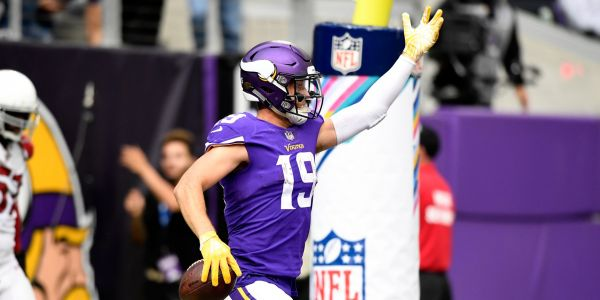 28-year-old Vikings player who paid $250 to try out for the NFL has become one of the best receivers in the league