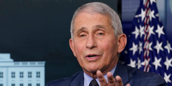 Fauci: 'If you're vaccinated and outside, put aside your mask'