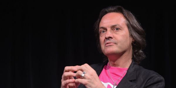 T-Mobile shares slide on report that it might lose its CEO to WeWork