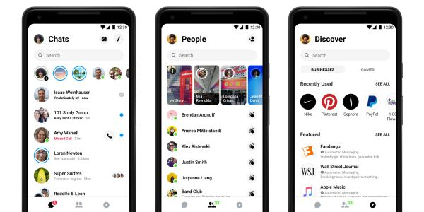 Facebook is giving Messenger an overhaul to try and cut down on bloat - and adding a dark mode