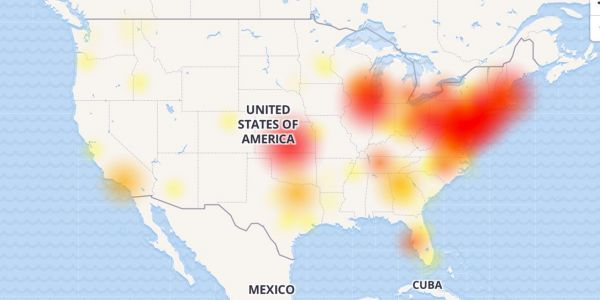 Verizon FiOS service is down in large chunks of the Northeast
