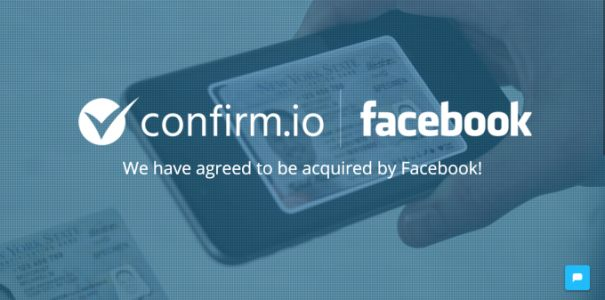 Facebook acquires ID authentication startup Confirm.io