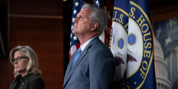 'I think she's got real problems': GOP leader Kevin McCarthy slams Rep. Liz Cheney on a hot mic, report says
