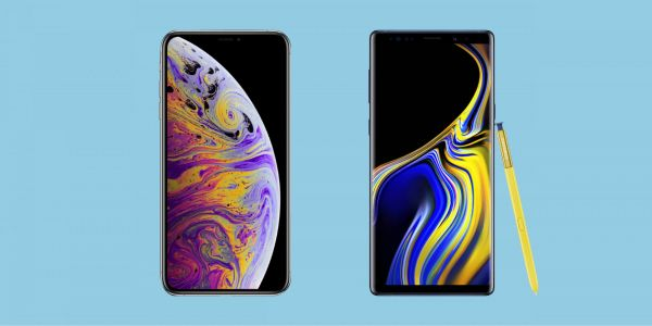 The new iPhone XS Max and Galaxy Note 9 are among the biggest, best, and most expensive phones you can buy - here's how they compare