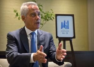Chicago mayor meets Chinese VP amid trade conflict