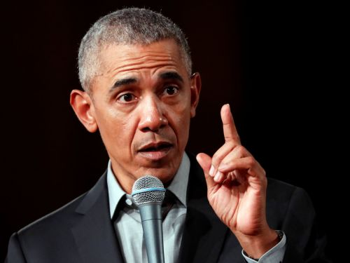 Barack Obama says any president should avoid TV and social media when making a decision - it 'clouds your judgment'