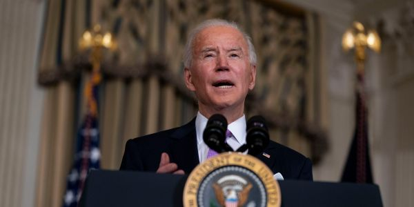 The United States' popularity among its allies has surged since Biden became president, a new poll indicates