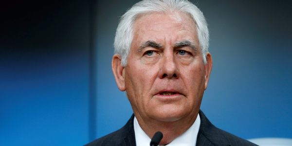 Tillerson's new North Korea strategy praised by China and Russia - but undermined by Trump