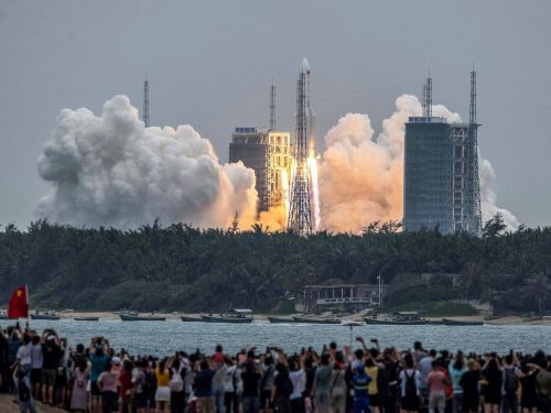 The US is tracking an uncontrolled Chinese rocket traveling at 18,000 miles an hour that is due to crash-land around May 8