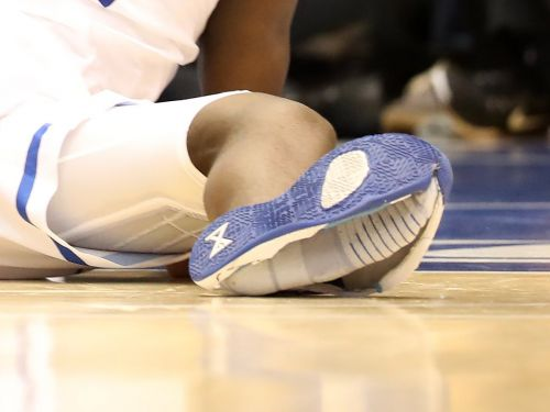 Zion Williamson was wearing a $110 pair of Nike sneakers when the shoes exploded and he injured his knee