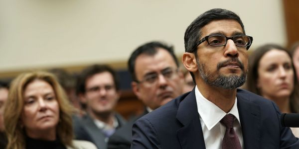 Google CEO Sundar Pichai's testimony to Congress exposed the abject failings and futility of Washington's version of tech policy
