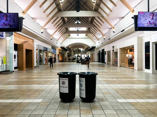 America's first mall is about to be redeveloped into offices, homes, and an NHL training center. We went inside and found it eerily empty