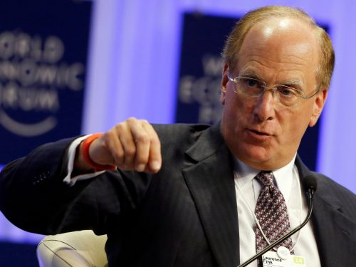 Larry Fink, CEO of $6.3 trillion manager BlackRock, just sent a warning letter to CEOs everywhere