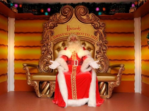 Harrods was accused of ruining the spirit of Christmas after limiting Santa visits to customers who spend over $2,500