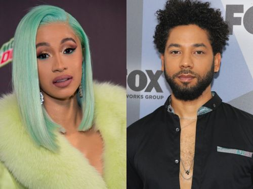 Cardi B says that she is 'really disappointed' in Jussie Smollett following reports that he may have staged his alleged attack