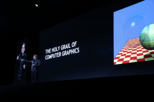 NVIDIA CEO Jensen Huang Unveils Turing, Reinventing Computer Graphics