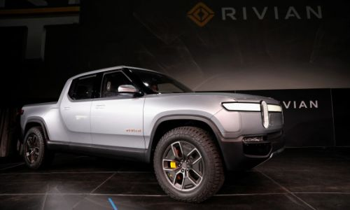 Amazon leads $700 million investment into electric pickup truck startup Rivian