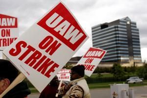 GM dumped health care for striking workers. That poured gas on fire, expert says