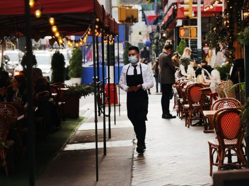 The disappointing April jobs report showed gains were mainly in leisure and hospitality