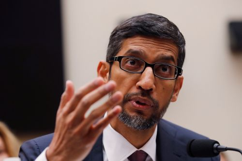 Sundar Pichai says more than 100 Google employees were working on a censored China search engine at one point