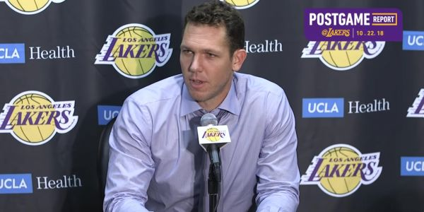 Luke Walton rips NBA officials for free throw disparity after Lakers overtime loss to Spurs