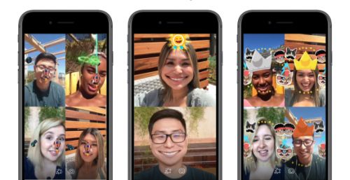 Facebook builds its own AR games for Messenger video chat
