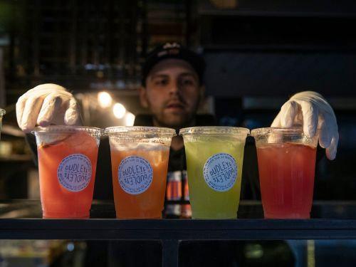 A battle is brewing over the industry push to make booze-to-go permanent in the US post-pandemic. Public health groups fear they're losing the fight