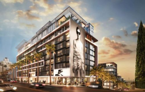 Pendry West Hollywood Hotel on Sunset Strip in West Hollywood Announced for 2020