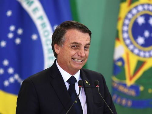 The CEOs of Apple and Microsoft had dinner at Davos with Brazilian president Jair Bolsonaro, who has a history of misogyny, racism, and homophobia