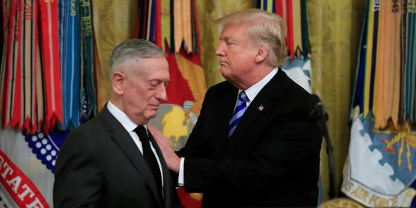 The Trump administration has been itching for a fight with Iran, but Mattis held it back. Now he's gone
