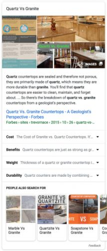 Google Search's new featured snippet panel saves you more clicks
