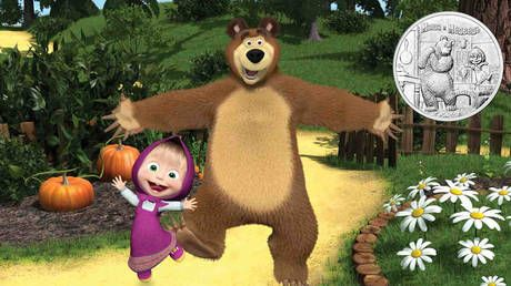 Beloved cartoon characters Masha and the Bear to appear on Russian commemorative coins