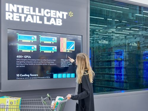 Walmart just opened a 50,000 square foot store of the future - see inside