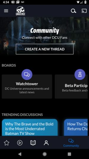 DC Entertainment's new streaming and digital comics service pops up on Google Play