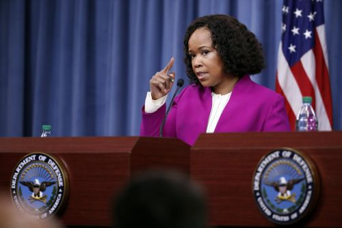 The top DoD spokeswoman is allegedly under investigation for asking her staff to grab her laundry and pick up snacks