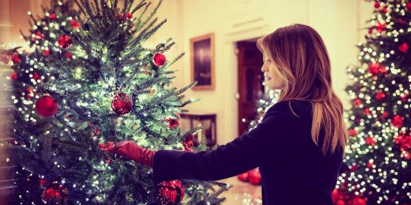Incredible photos show how the White House has celebrated Christmas through the years