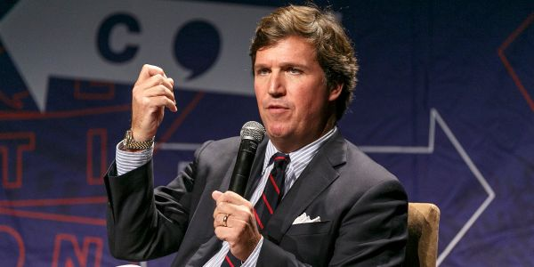Tucker Carlson curses out Dutch historian who accuses him of being a 'millionaire funded by billionaires' in an unaired interview