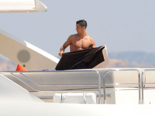 Cristiano Ronaldo shared photos of the lavish vacation he's currently having on board a superyacht that costs over $200,000 a week