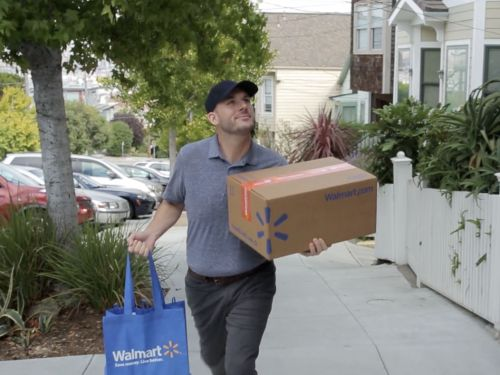 Walmart is expanding its same-day grocery delivery business